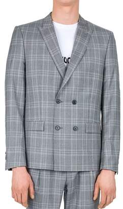 The Kooples Modern Prince de Galles Slim Fit Sport Coat