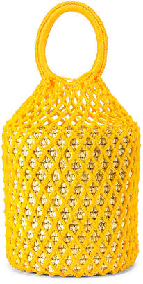 Sensi STUDIO Straw Netted Bucket Bag