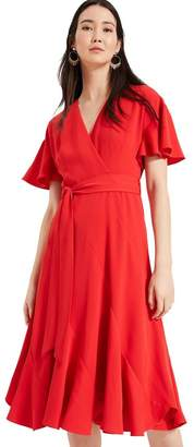 48d9164f8 Phase Eight Womens Fiery Red Elena Panelled Dress - Red