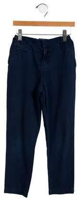 Stella McCartney Boys' Striped Five-Pocket Jeans