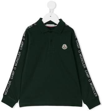 Moncler longsleeved polo shirt