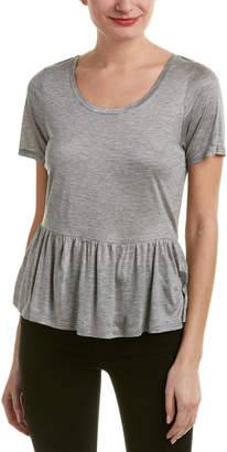French Connection Peplum Top