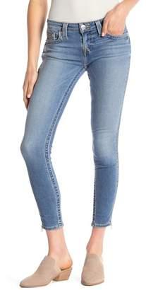 True Religion Ankle Skinny Zipper Jeans
