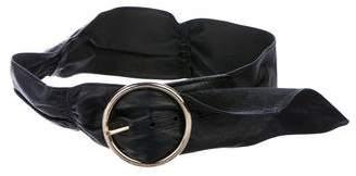 Michael Kors Leather Waist Belt