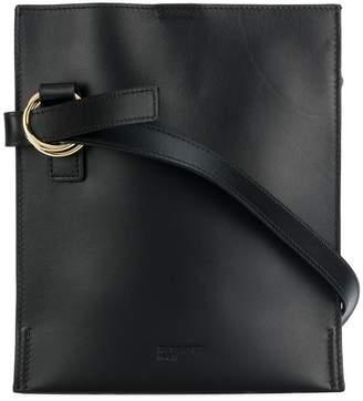 Jil Sander Navy adjustable shoulder strap bag