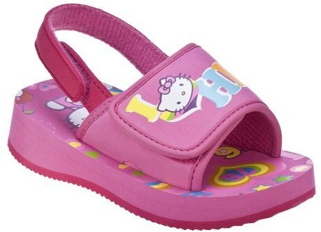 Toddler Girls' Hello Kitty Beth Flip Flops - Pink
