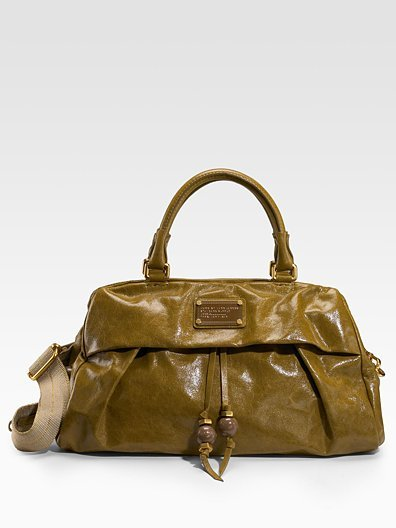 Marc by Marc Jacobs New Q Solid Groovee Satchel