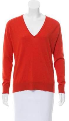 Balenciaga V-Neck Knit Sweater