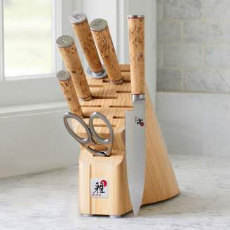 Sur La Table Miyabi Birchwood 7-Piece Block Set