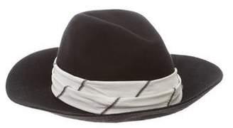 Brunello Cucinelli Monili-Embellished Cashmere Hat