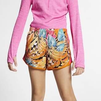 83cb0cf56 Nike Big Kids' (Girls') Printed Running Shorts Dri-FIT Tempo
