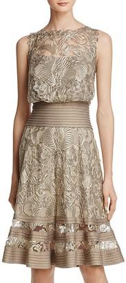 Tadashi Shoji Embroidered Lace Dress $408 thestylecure.com