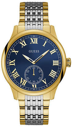 GUESS Work Life Two-Tone U1078G2Stainless Steel Analog Bracelet Watch