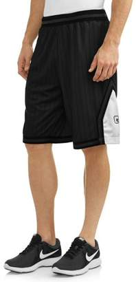 AND 1 AND1 Big Men's Striped Mesh Basketball Shorts