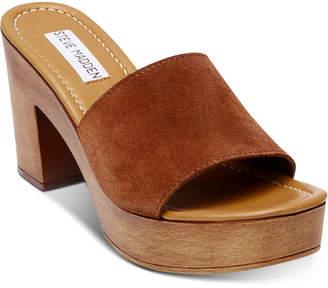 Wooden Platform Womens Sandals Shopstyle