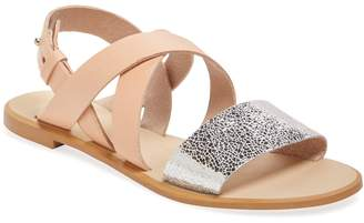 RENVY Women's Strappy Leather Sandal