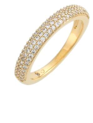 Nadri Stackable Pave Cubic Zirconia Ring