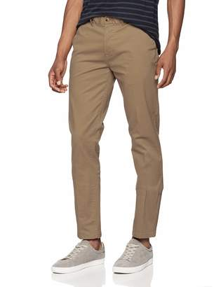 Scotch & Soda Men's Stuart-Classic Chino in Stretch Cotton Quality Trouser, ( 0155), W/L32