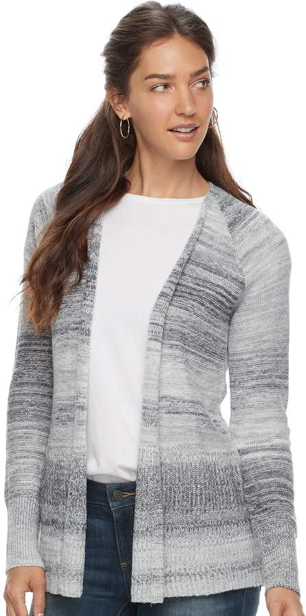 Sonoma Goods For Life Women's SONOMA Goods for Life Striped Cardigan