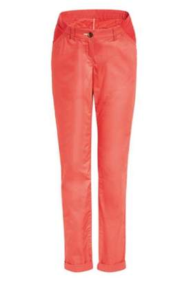 Next Womens Coral Maternity Chinos