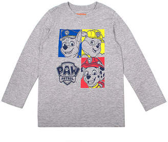 PAW PATROL Boys Crew Neck Long Sleeve Paw Patrol T-Shirt-Toddler