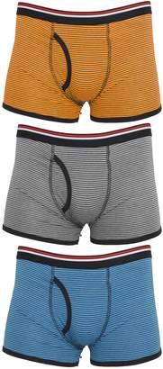 Trunks Tom Franks Mens Striped Underwear (3 Pack)