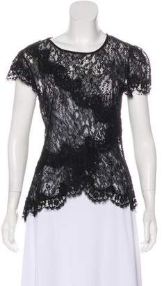 Isabel Marant Beaded Lace Top