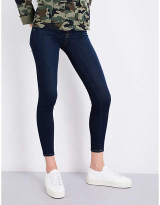 7 For All Mankind B(air) super-skinny high-rise jeans
