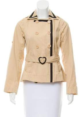 Sonia Rykiel Sonia by Double-Breasted Belted Jacket