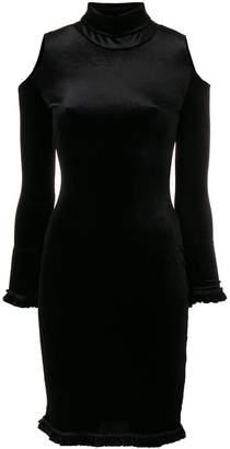 Faith Connexion shoulder cut-out tube dress