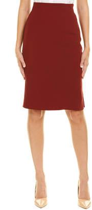 Akris Wool-Blend Pencil Skirt