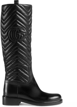 Matelassé knee boot $1,450 thestylecure.com