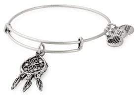 Alex and Ani Dreamcatcher Swarovski Crystal Charm Bangle Bracelet