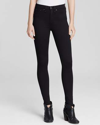 Rag & Bone Leggings - The High Rise in Black