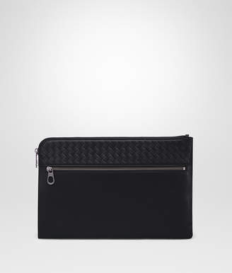 Bottega Veneta NERO CALF DOCUMENT CASE
