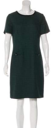 Karl Lagerfeld Tweed Embellished Dress w/ Tags