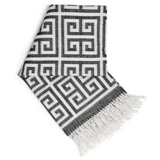 Jonathan Adler Greek Key Baby Alpaca Throw