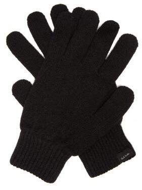 Paul Smith Cashmere Blend Gloves - Mens - Black