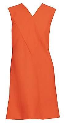 Givenchy Women's Wool Sleeveless Shift Dress