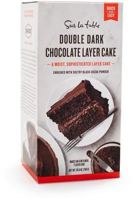 Sur La Table Double Dark Chocolate Layer Cake