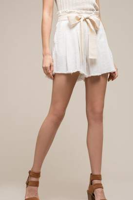 Moon River Penelope Paperbag Shorts