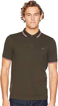 Fred Perry Men's Slim FIT Twin Tipped Shirt