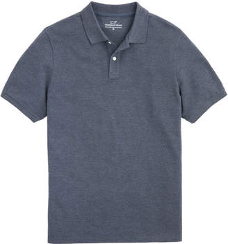 Vineyard Vines Mens Solid Stretch Pique Polo