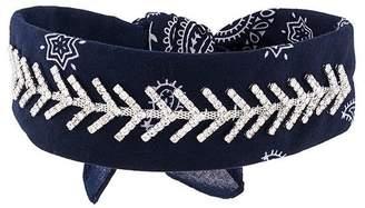 Fallon jewel embellished bandana choker