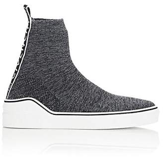 Givenchy Men's George V Knit Sneakers - Gray