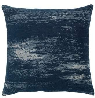 Distressed Indigo Indoor/Outdoor Accent Pillow