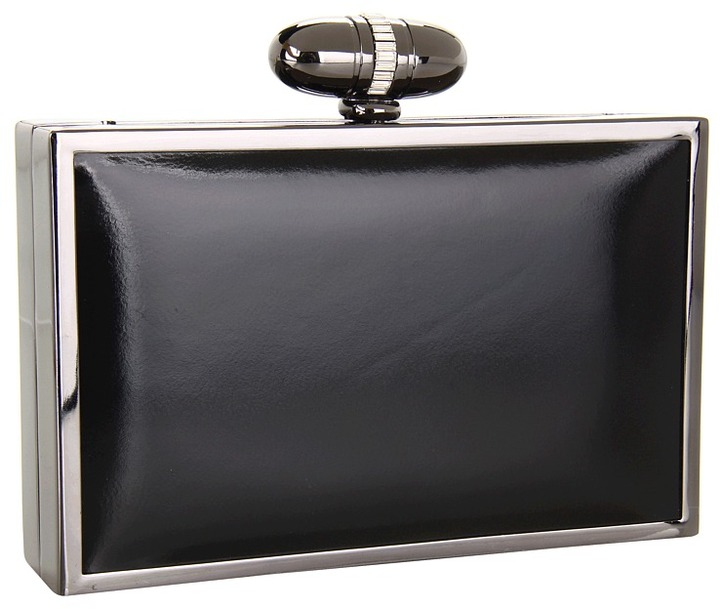 Franchi Erica Clutch (Black) - Bags and Luggage