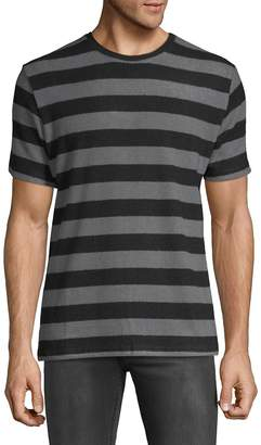 Hyden Yoo Men's Wide Horizontal Stripes Tee