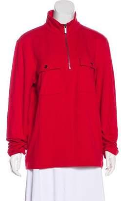 Michael Kors Jersey Zip-Up Jacket