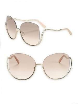 Chloé Milla 64MM Oversized Butterfly Sunglasses